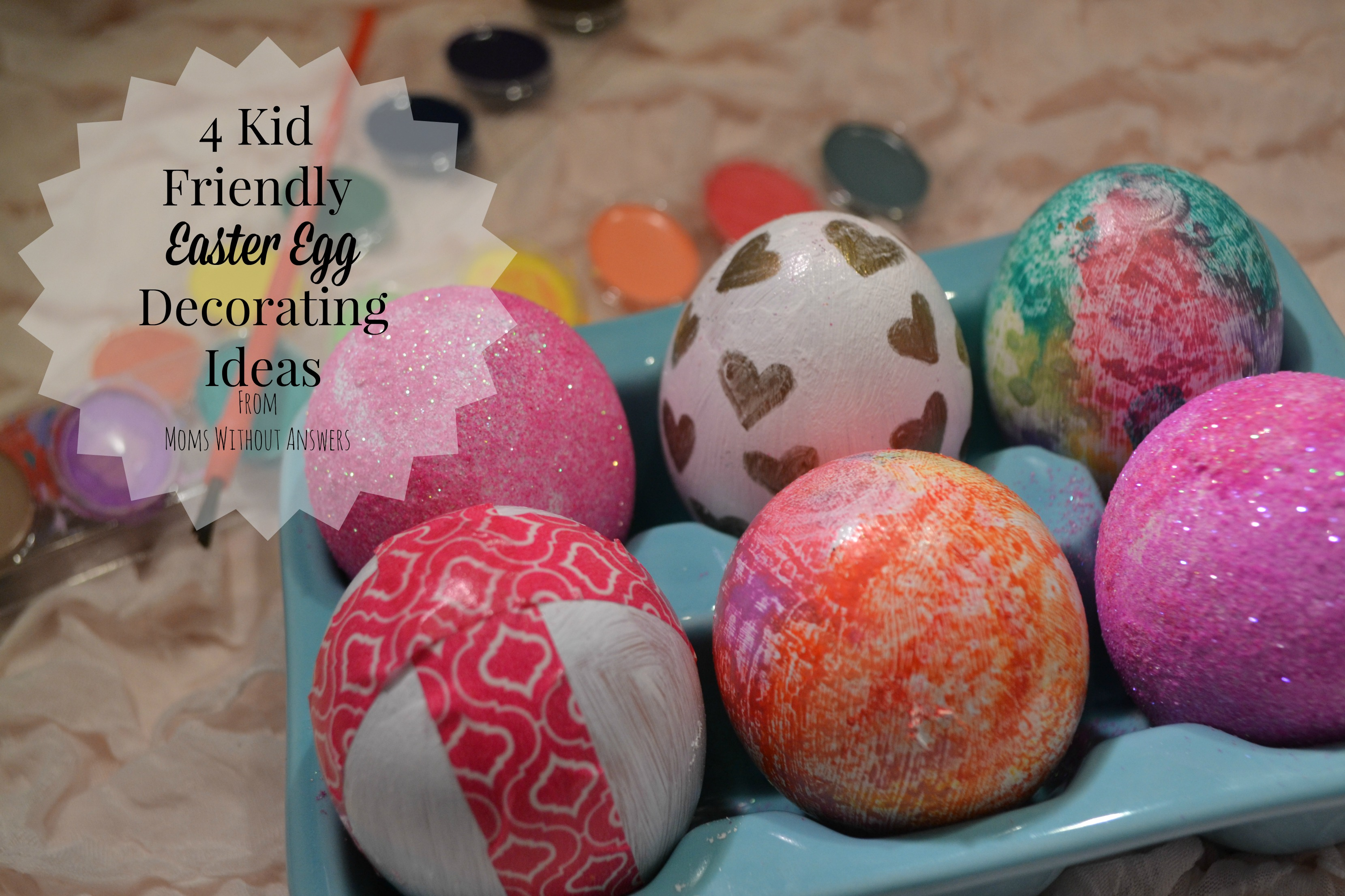 4 Easy and Creative Ways to Decorate Easter Eggs