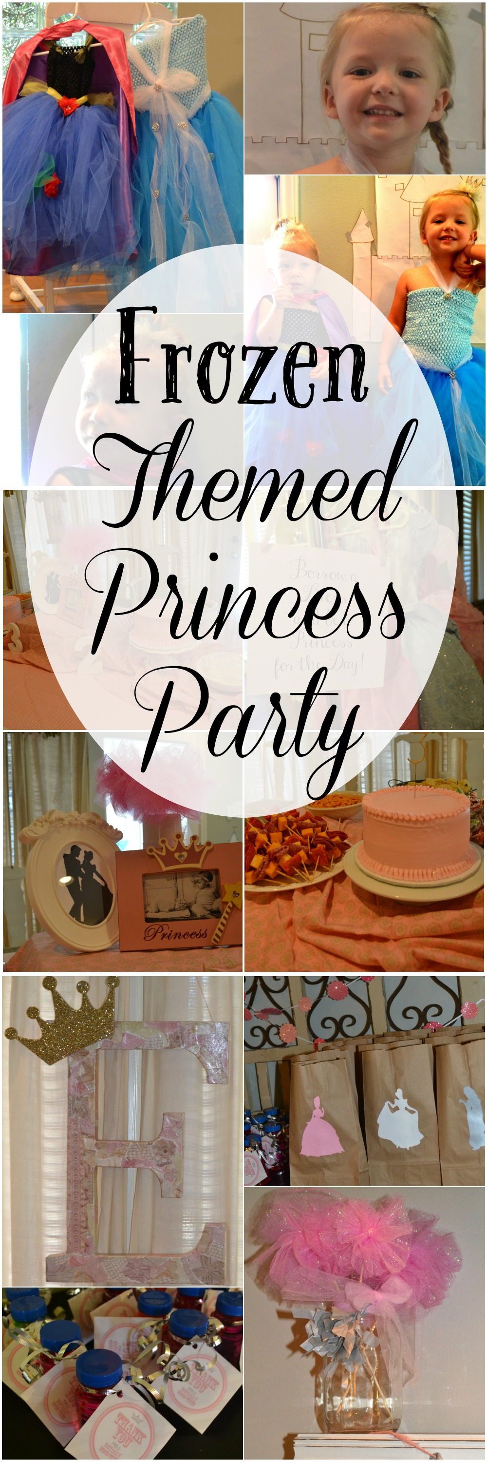 This Frozen Themed Birthday party is full of all things Anna, Elsa, Olaf and more Princess Party Fun. Great tips and ideas for the perfect Frozen Birthday party!