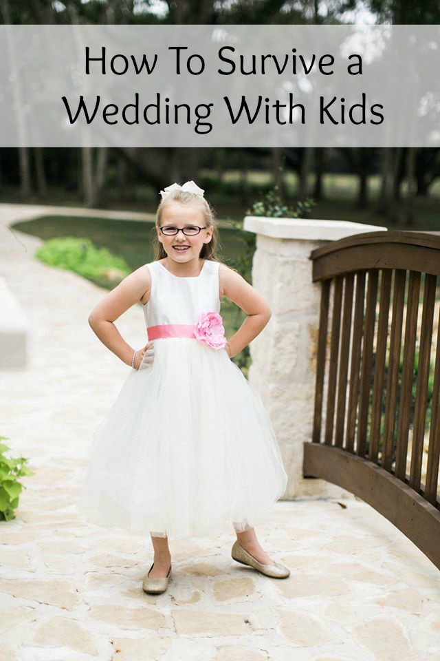 How to Survive a Wedding with Kids
