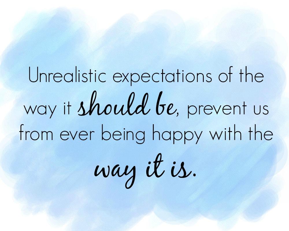 unrealisticexpectations