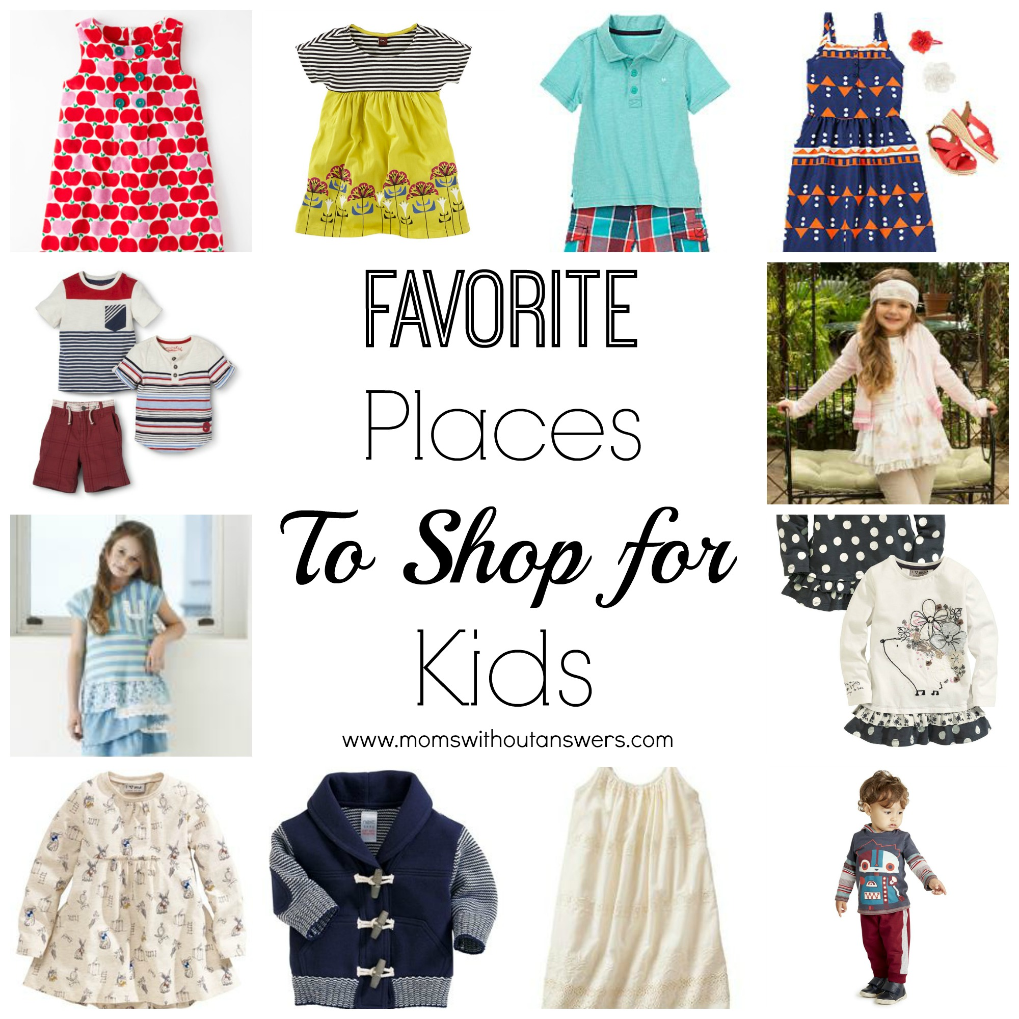 Favorite Places to Shop for Kids