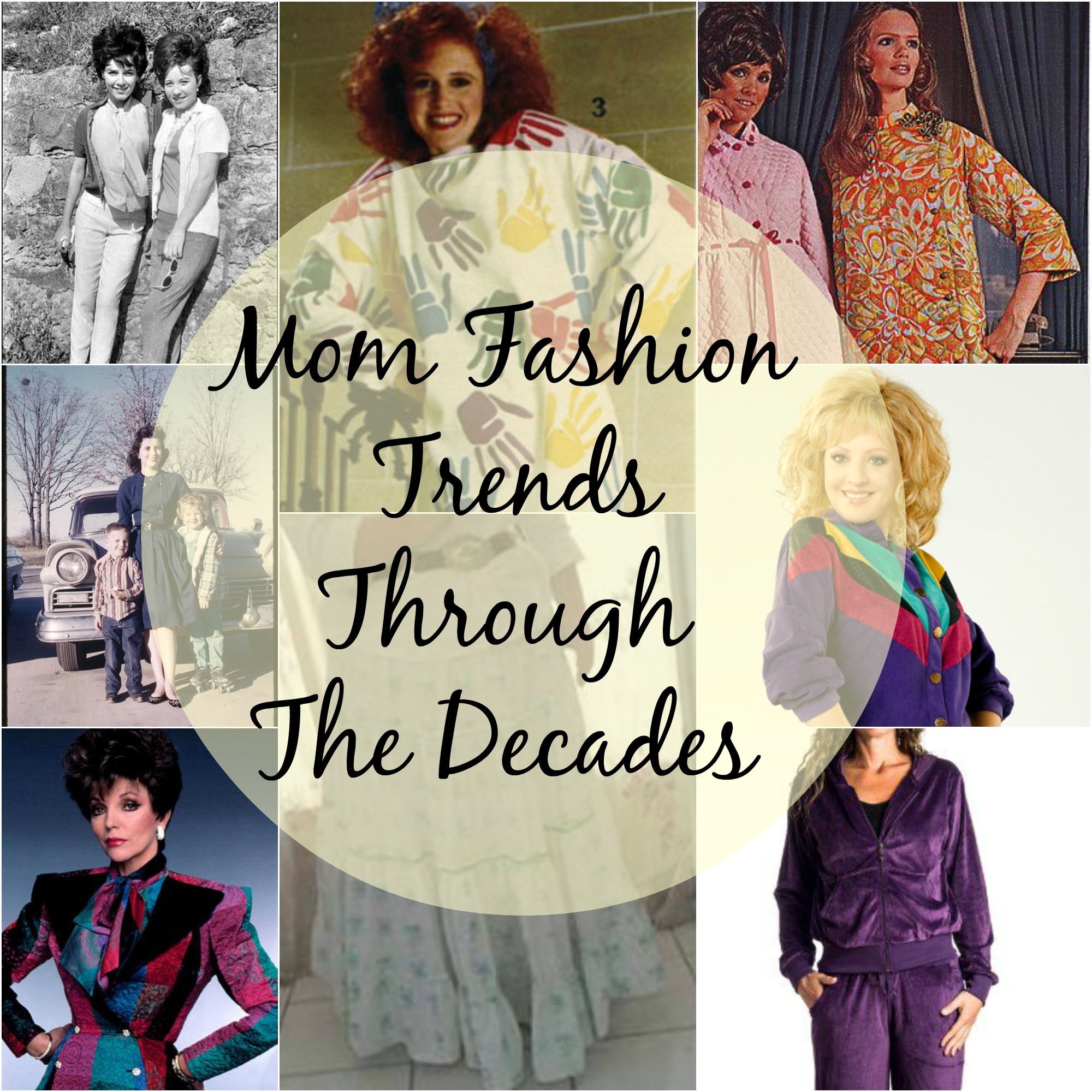 Mom Fashion Trends Through The Decades Houston Mommy And Lifestyle Blogger Moms Without Answers