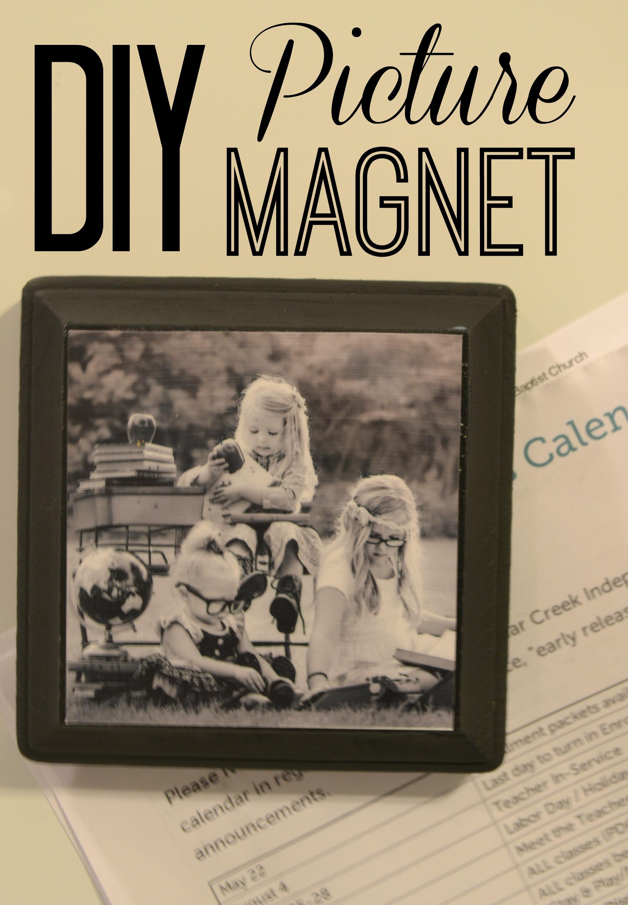 DIY Picture Magnet