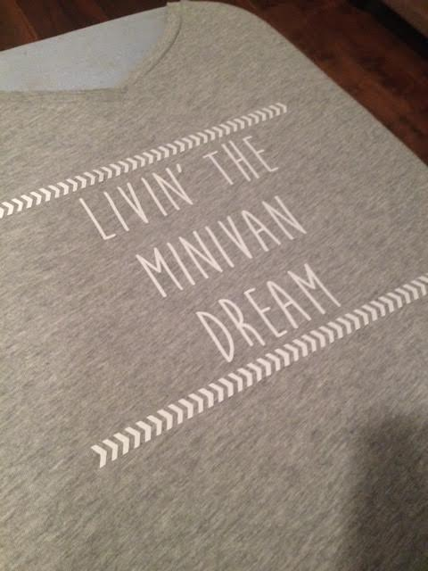 Livin the Mini Van Dream