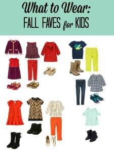 What to Wear Fall Faves for Kids