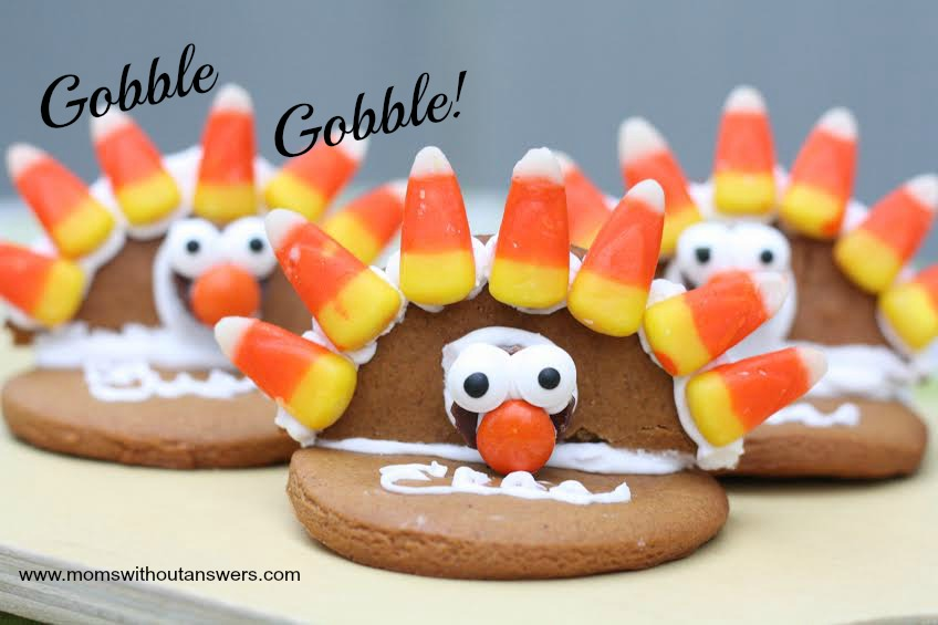 Thanksgiving Cookie Place Cards
