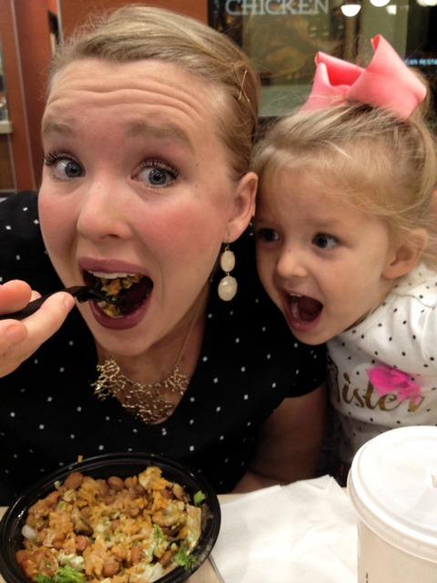 El Pollo Loco Mom and Ev