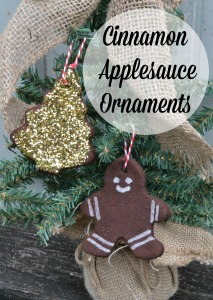 Cinnamon Applesauce Ornament