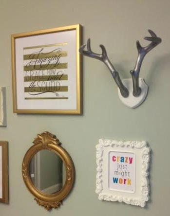 Office Gallery Wall- Crazy