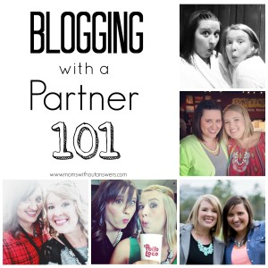 Blogging with a Partner 101