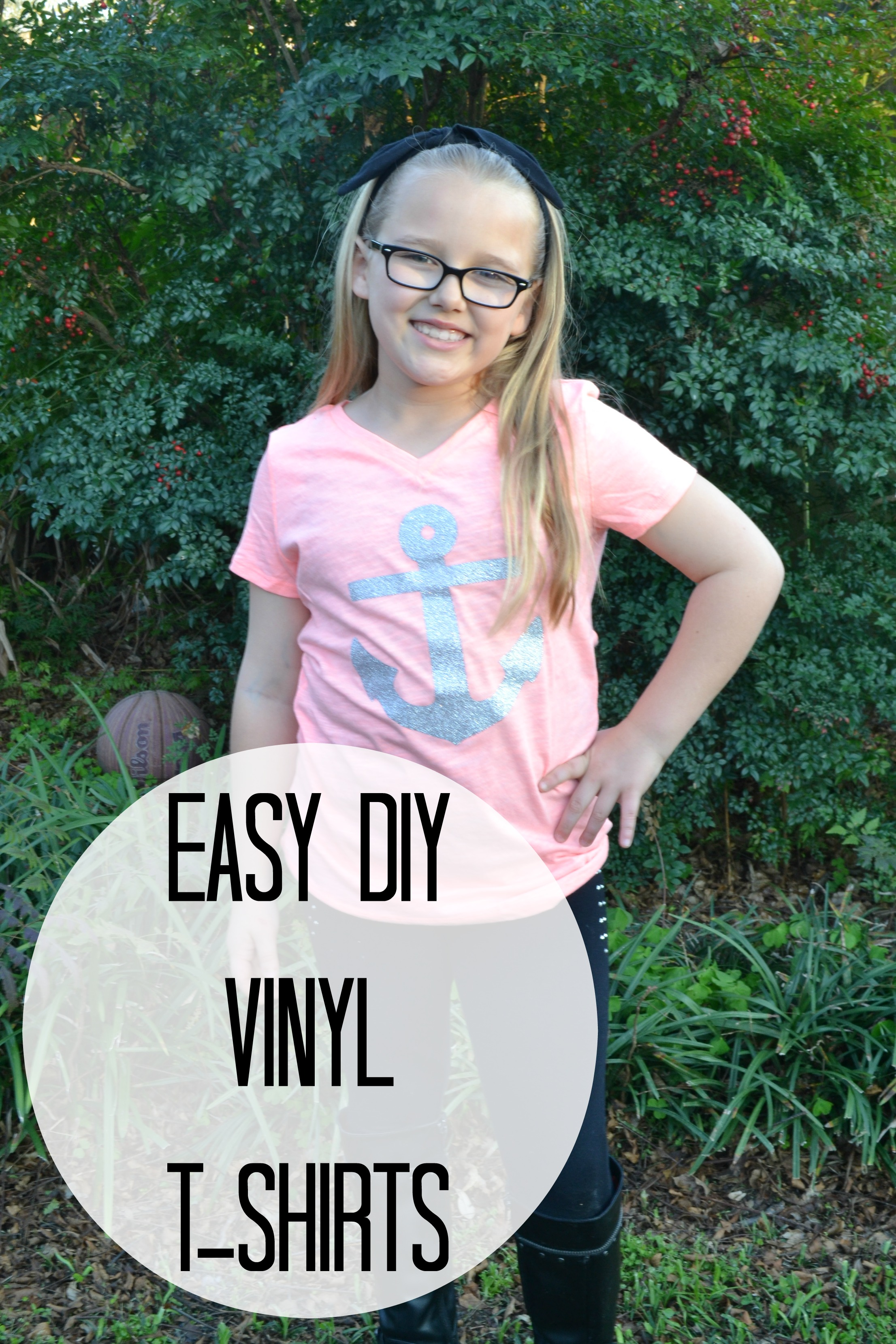 Easy diy vinyl t shirts houston mommy and lifestyle for How to put a picture on a shirt diy