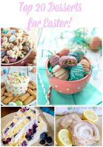 Top 20 Desserts for Easter