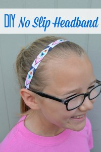 DIY No Slip Headband- Cute Printed Elastic Headbands