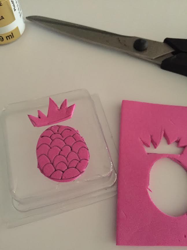 Pineapple Stamp DIY