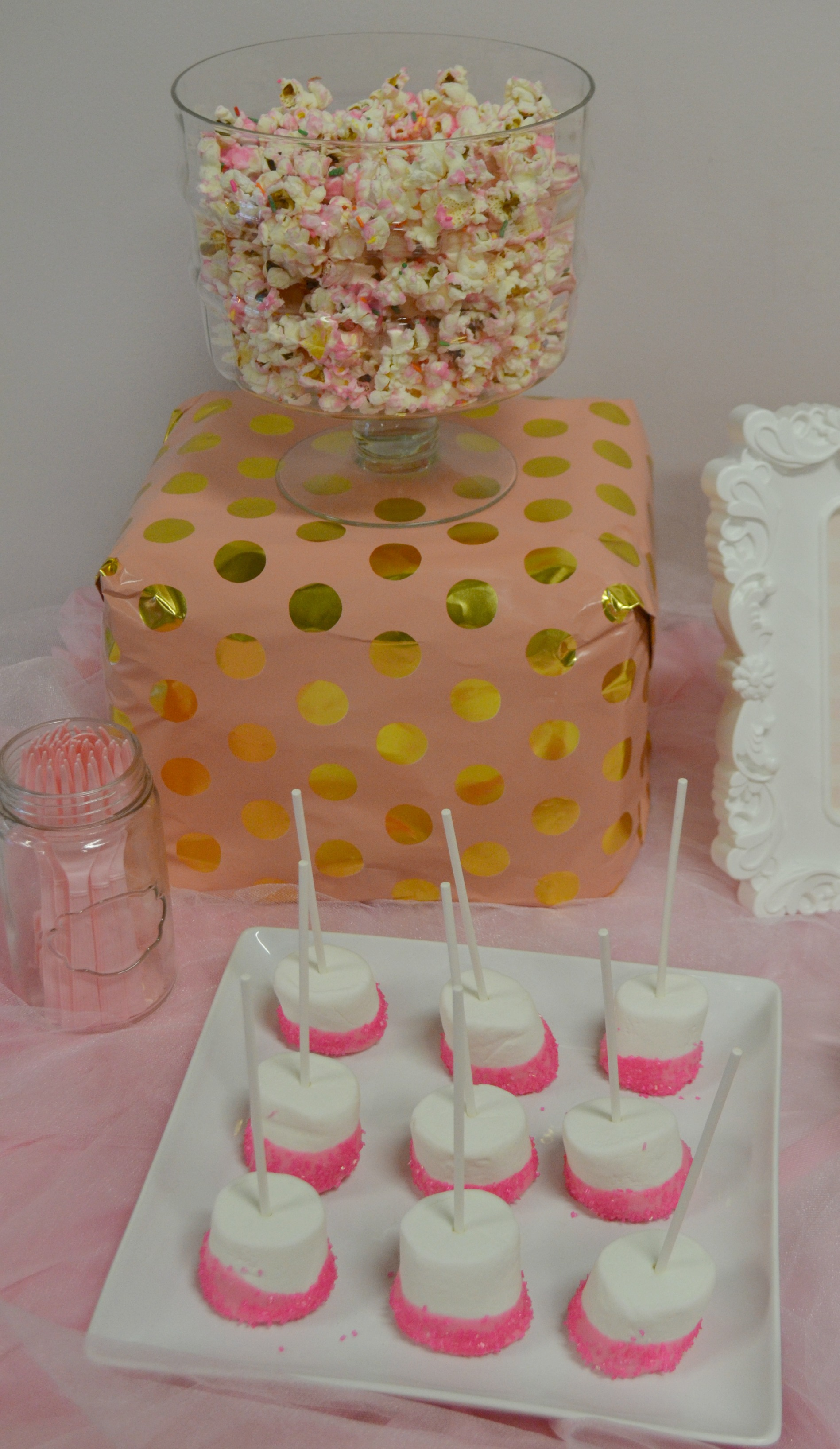 Ballerina Party Pink Food