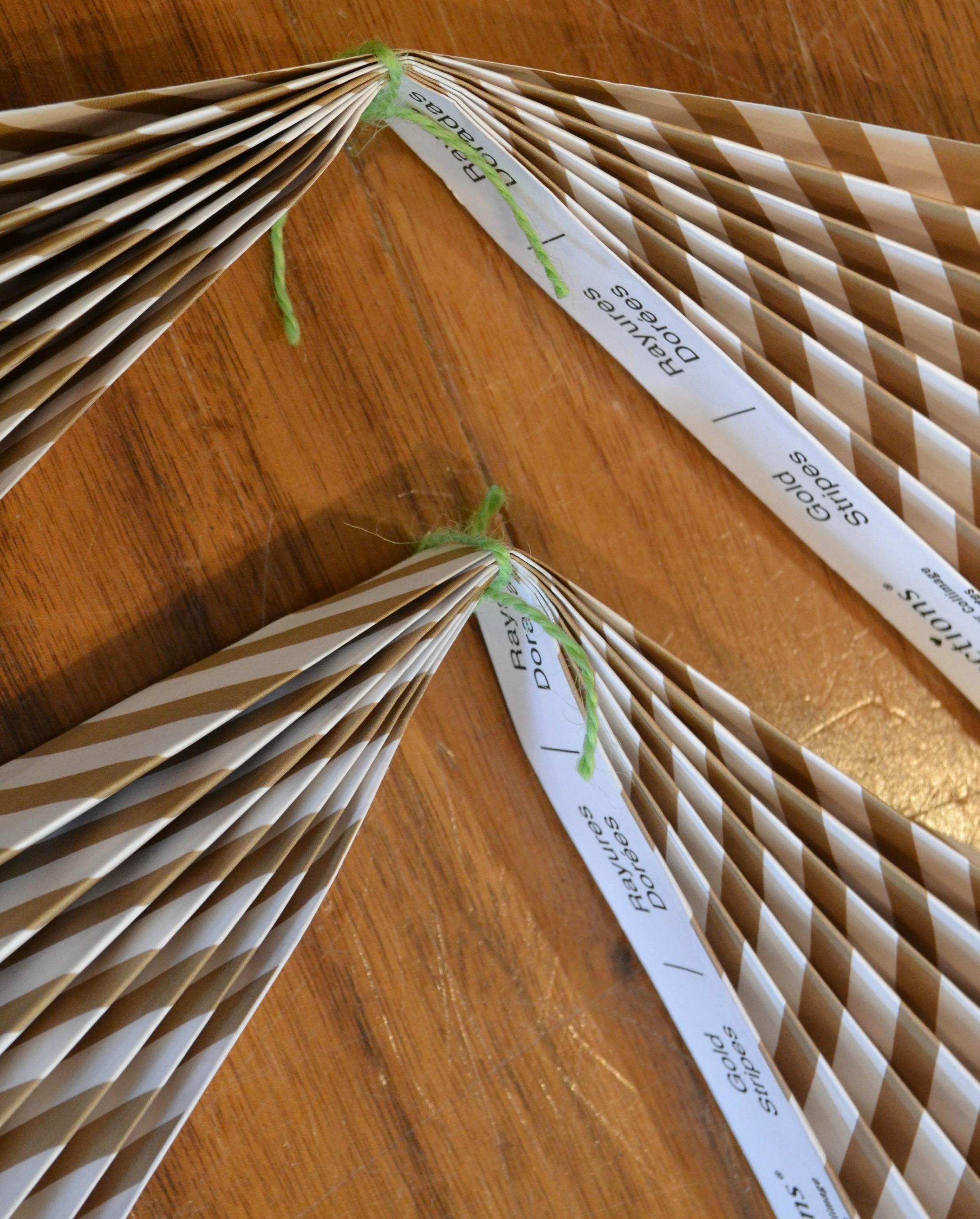 DIY Paper Fan Step 2