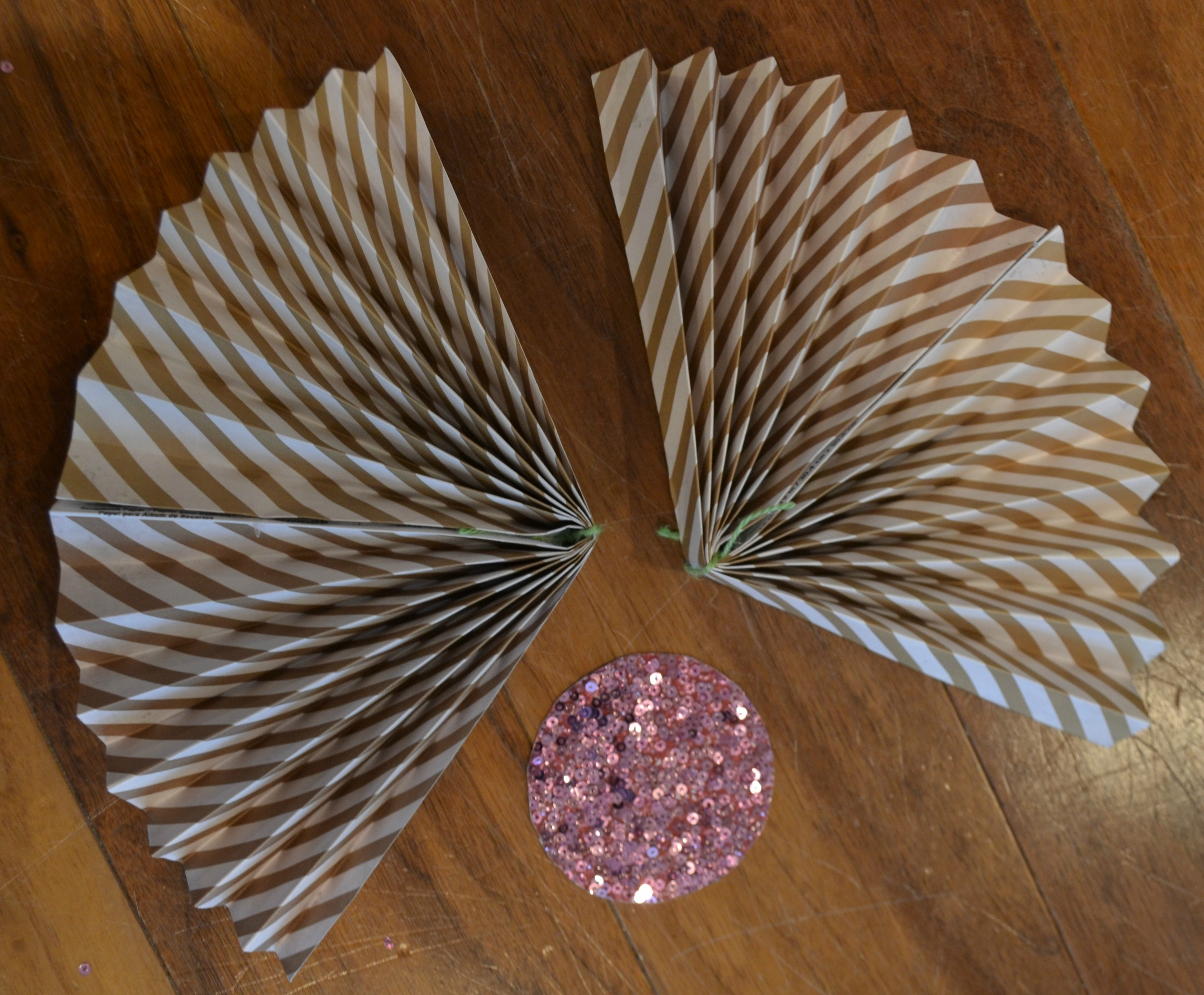 DIY Paper Fan Step 3