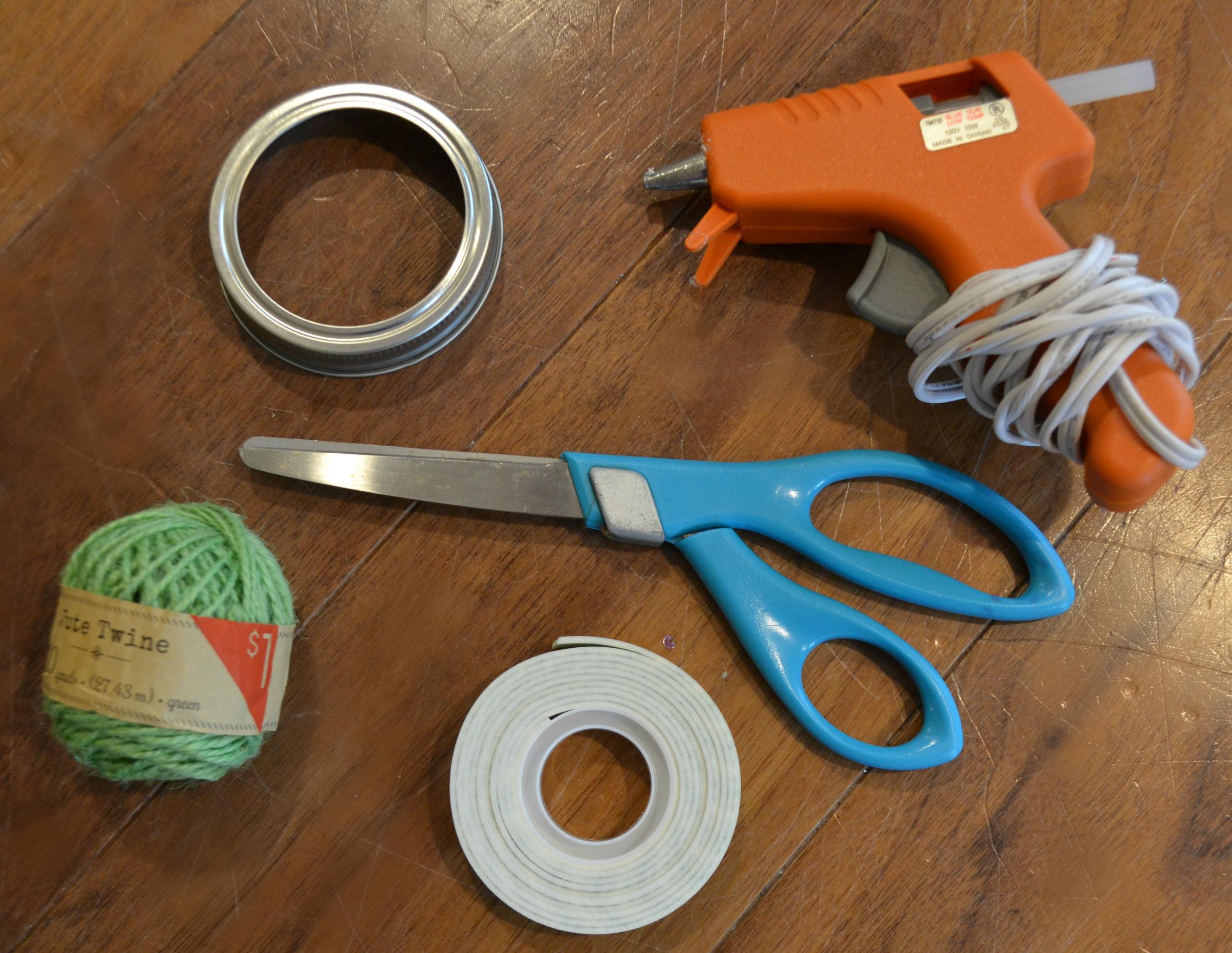 DIY Paper Fan Supplies 2