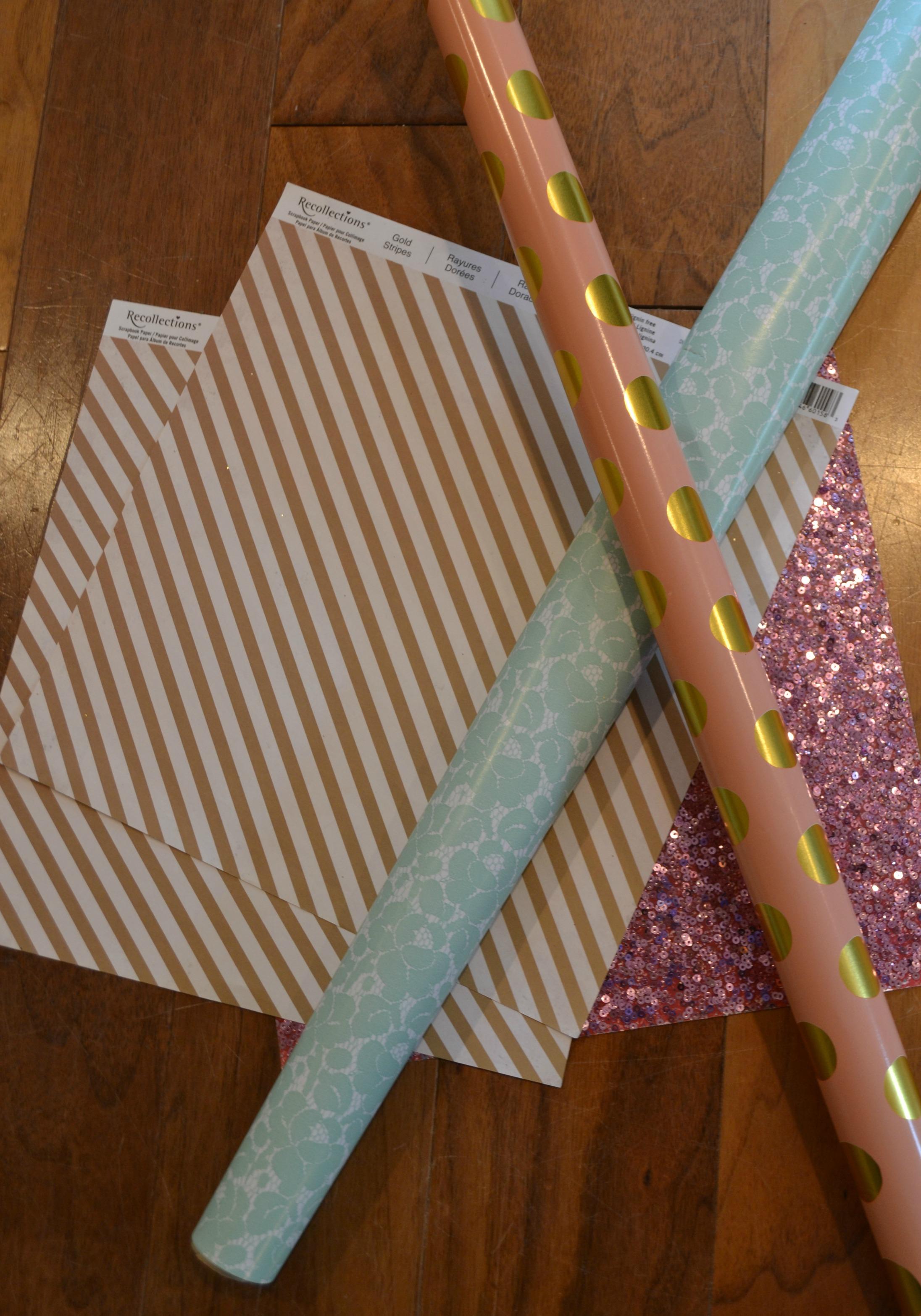 DIY Paper Fan Supplies