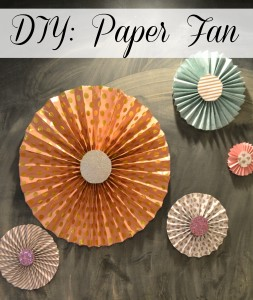 Ballet Party, Paper Fan, Pink Party, DIY Party