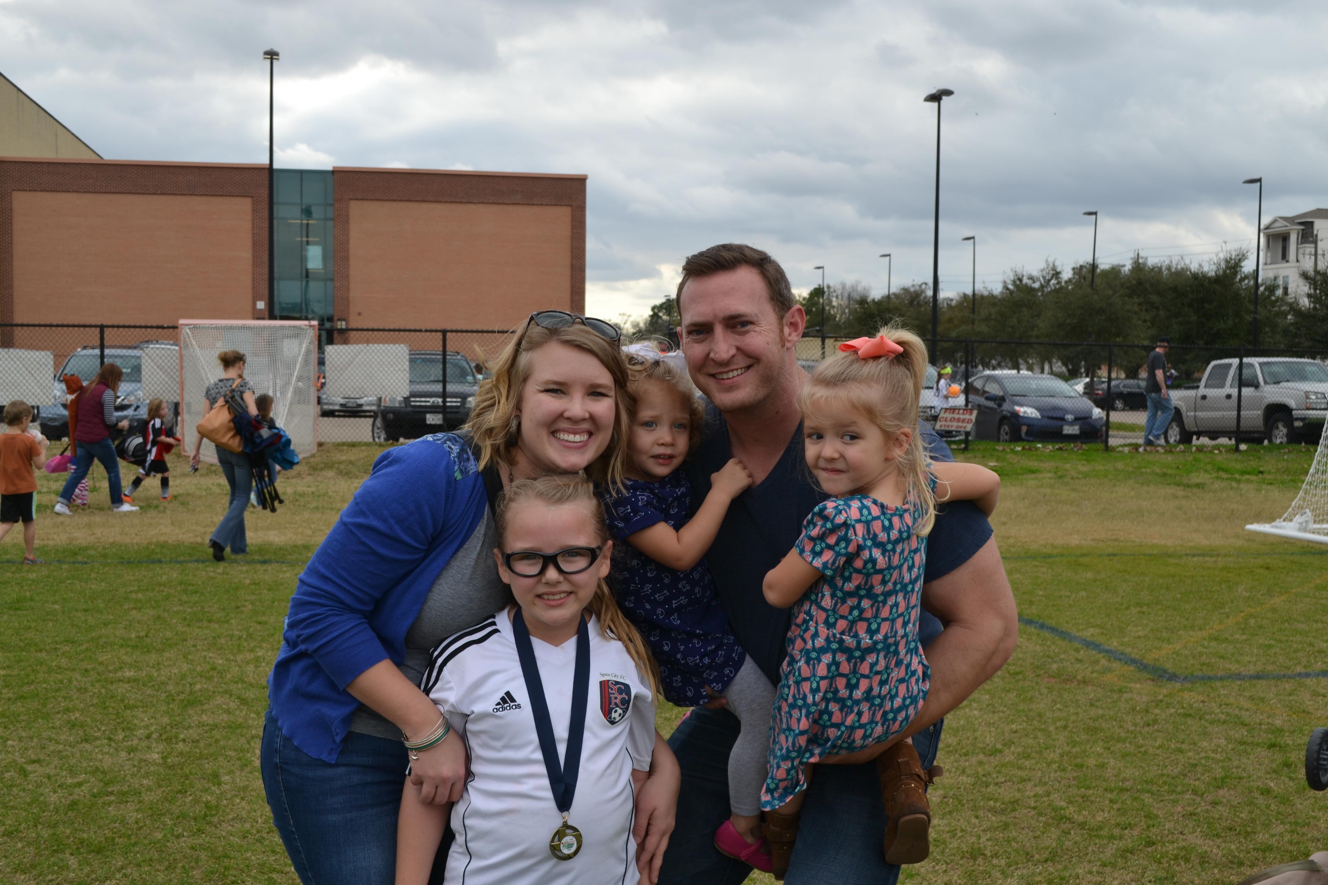 Family at Soccer