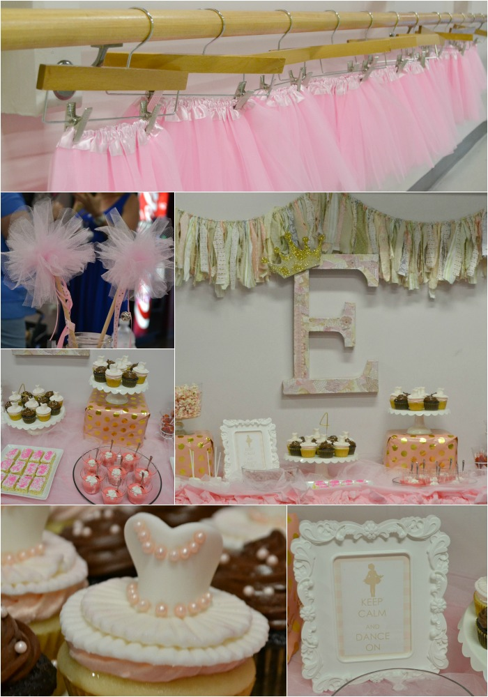 Pink Ballet Birthday Party