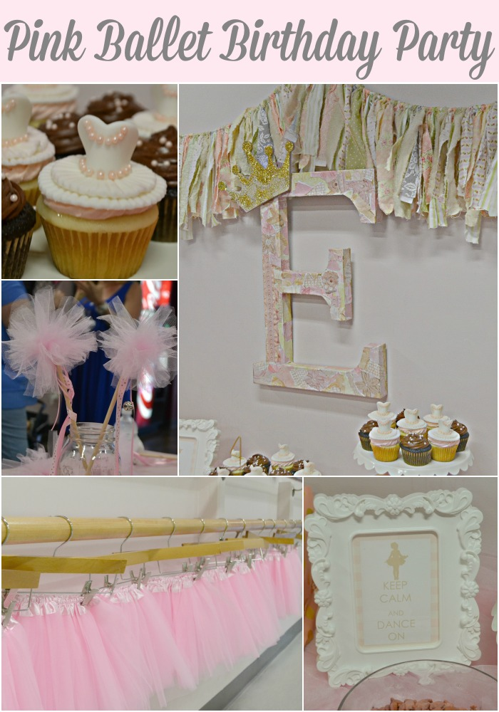 Pink Party-Ballet Party-Princess Party