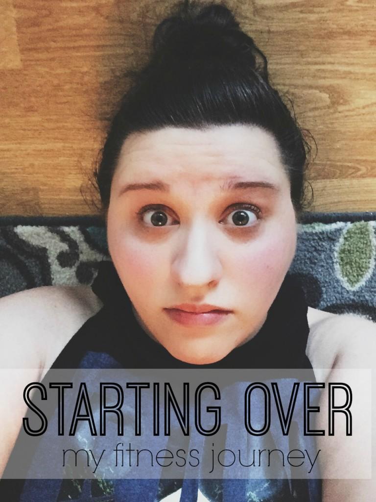 starting over