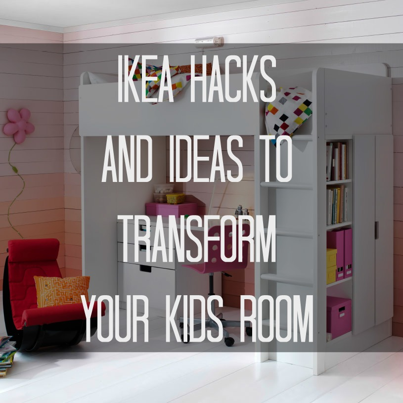 ikea ideas hacks for attic bedroom - Ikea Hacks and Ideas to Transform Your Kids Room Moms