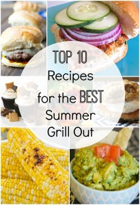 Top 10 Recipes for the Best Summer Grill Out