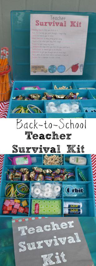 Back to School Teacher Survival Kit 2