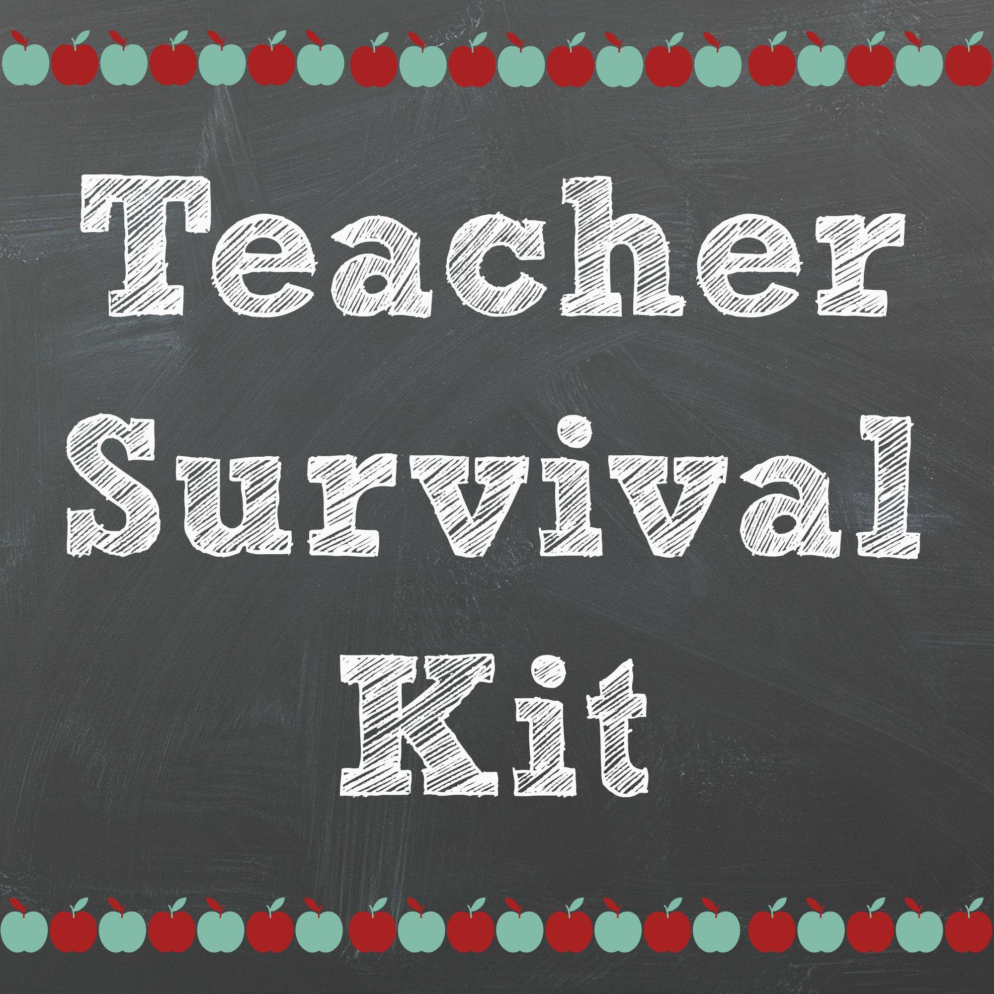 Teacher Survival Kit Printable 1