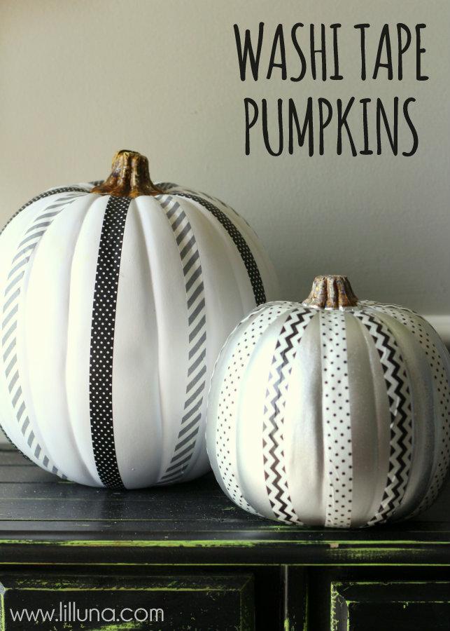 Adorable-Washi-Tape-Pumpkins