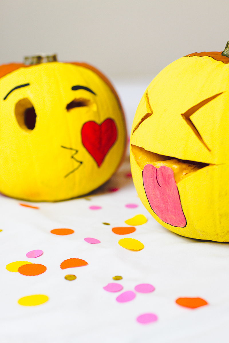 DIY-Emoji-Pumpkins-Halloween-Decor-Fun-Painting