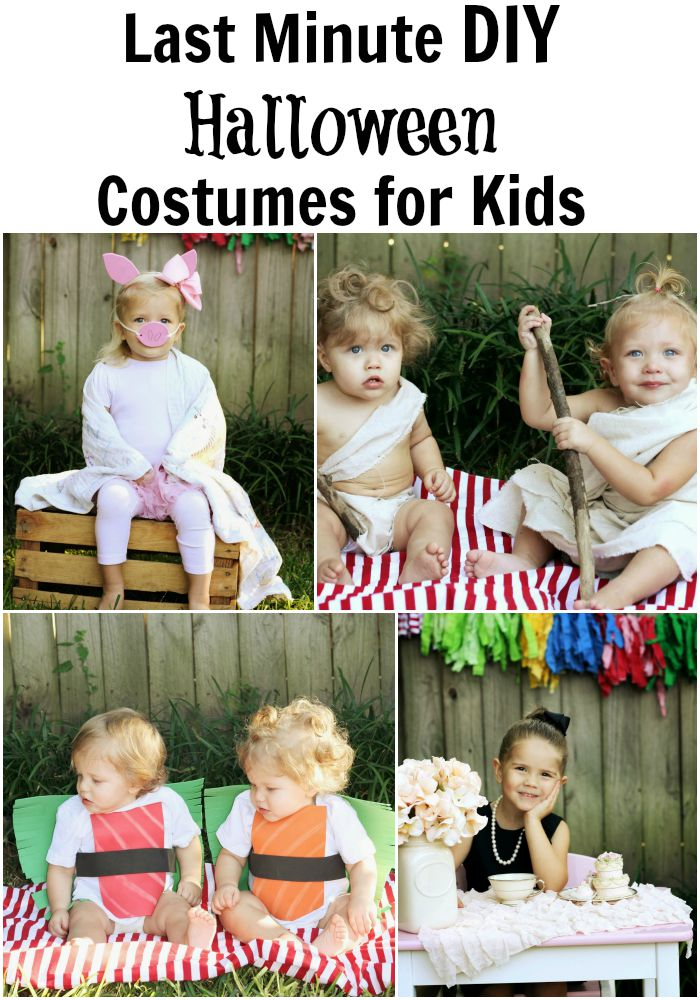 Last Minute DIY Halloween Costumes for Kids - Moms Without ...