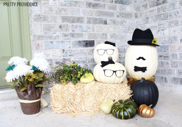 no-carve-pumpkin-people
