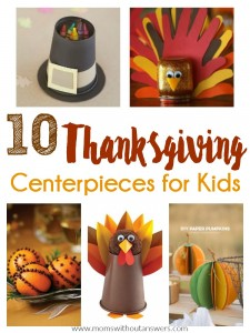 10 Thanksgiving Centerpieces For Kids
