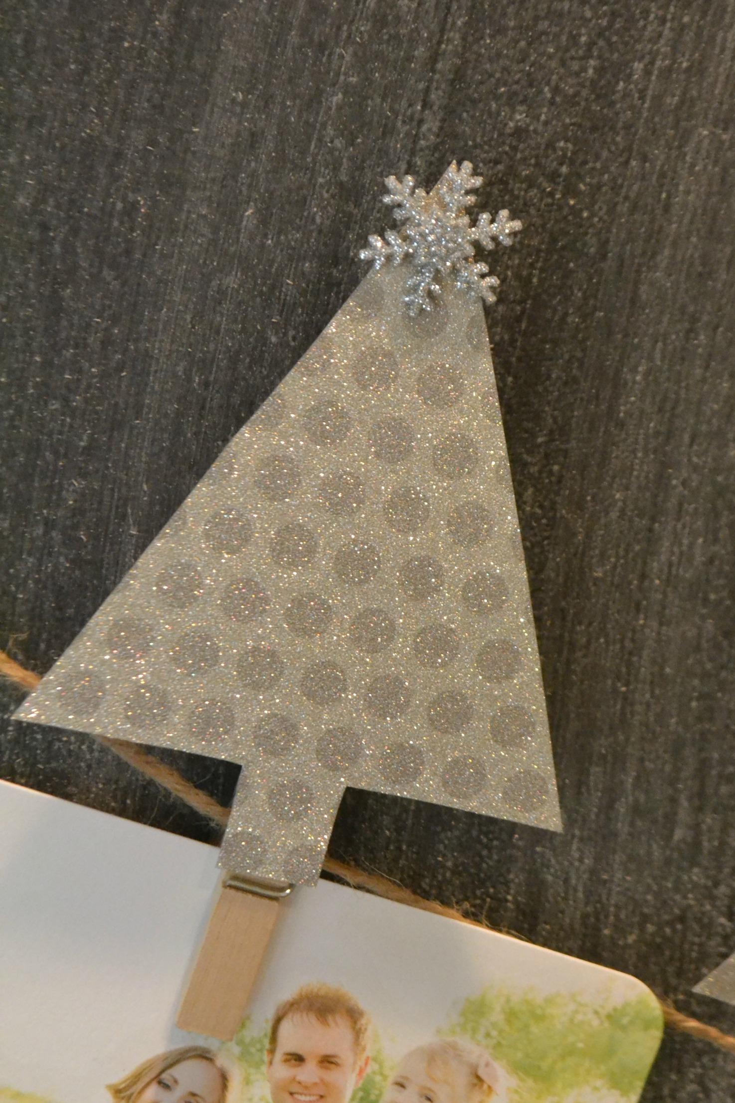 DIY Christmas Card Display Christmas Tree