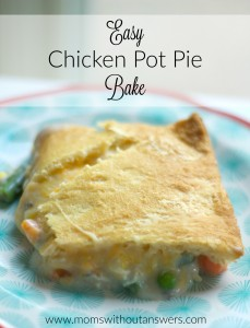 Easy Chicken Pot Pie Bake