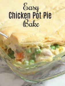 Easy Chicken Pot Pie Bake