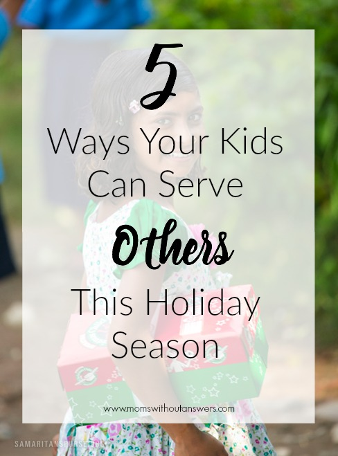 5 Ways Your Kids Can Serve Others This Holiday Season