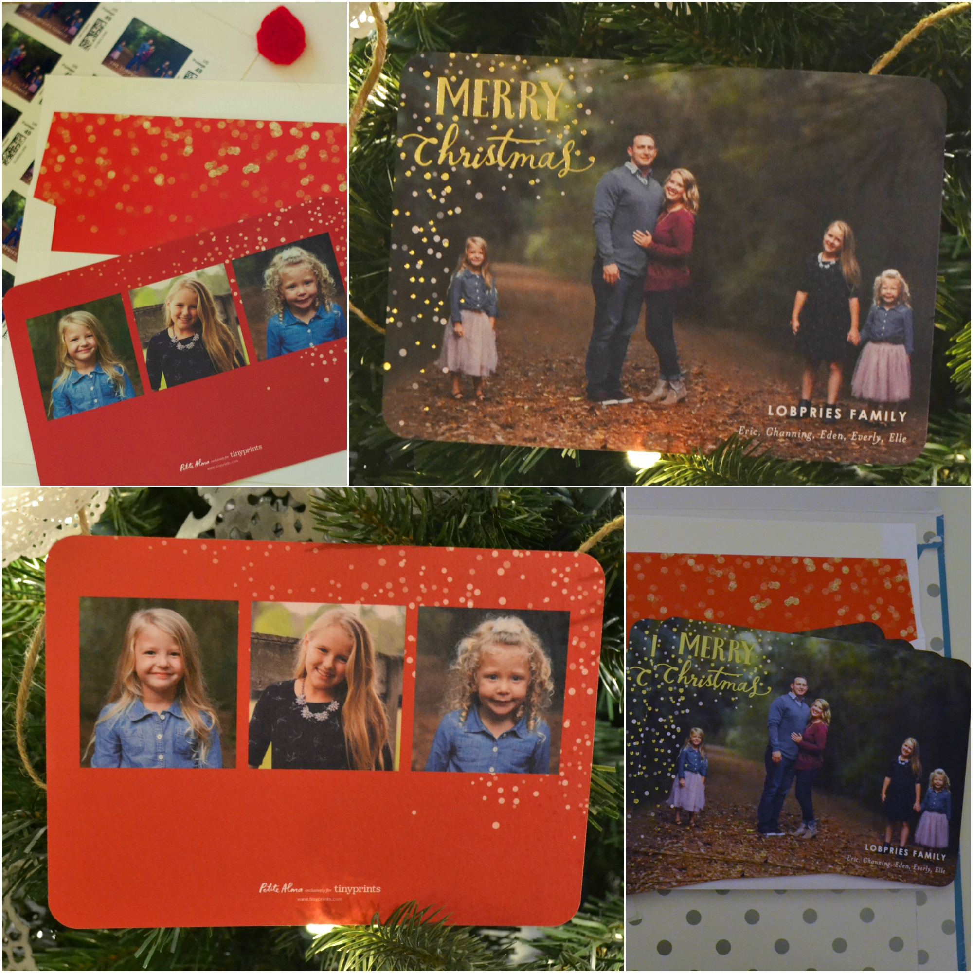 Tiny Prints Christmas Cards 2015