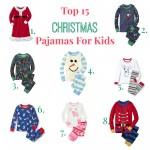 Top 15 Christmas Pajamas for Kids