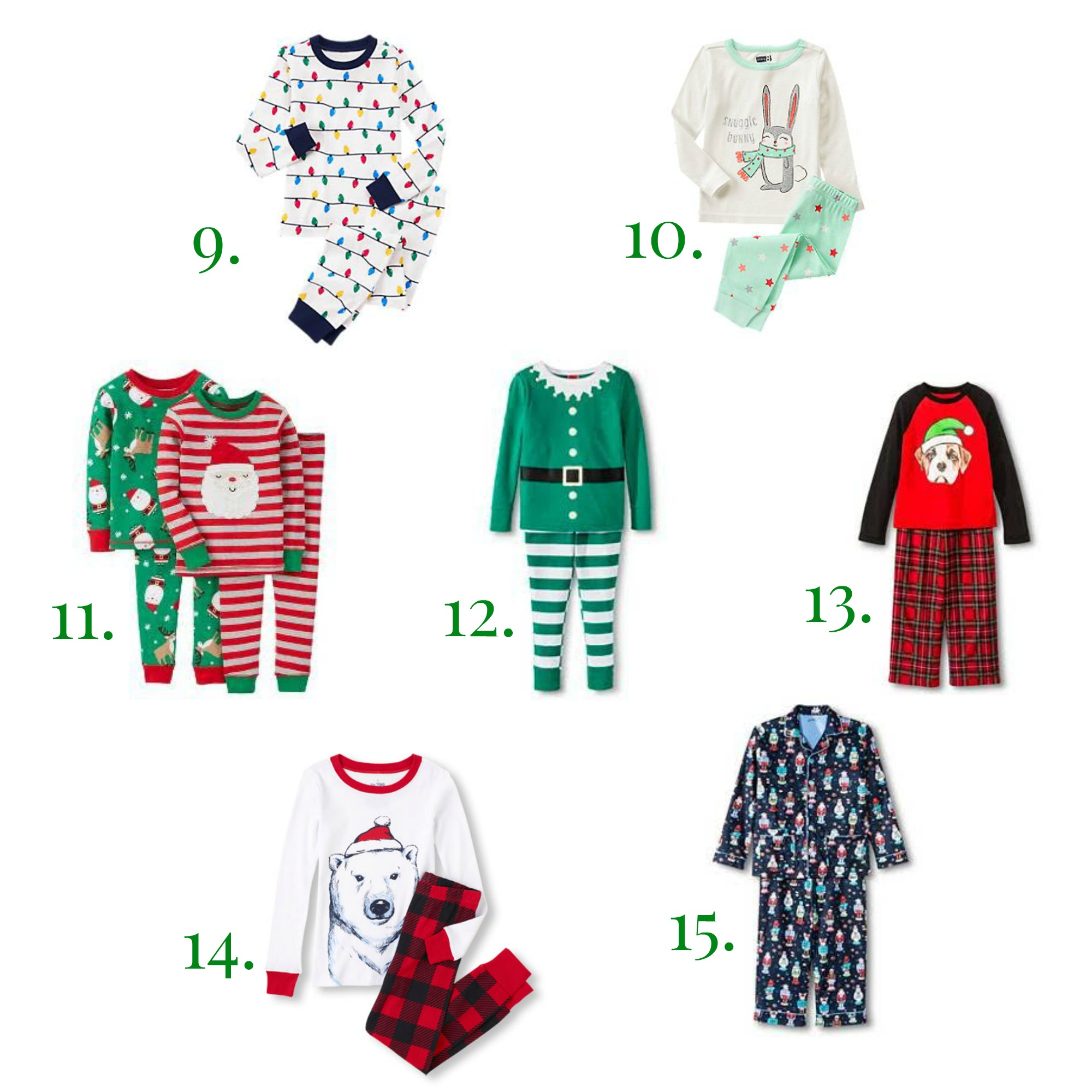 Top 15 Christmas Pajamas