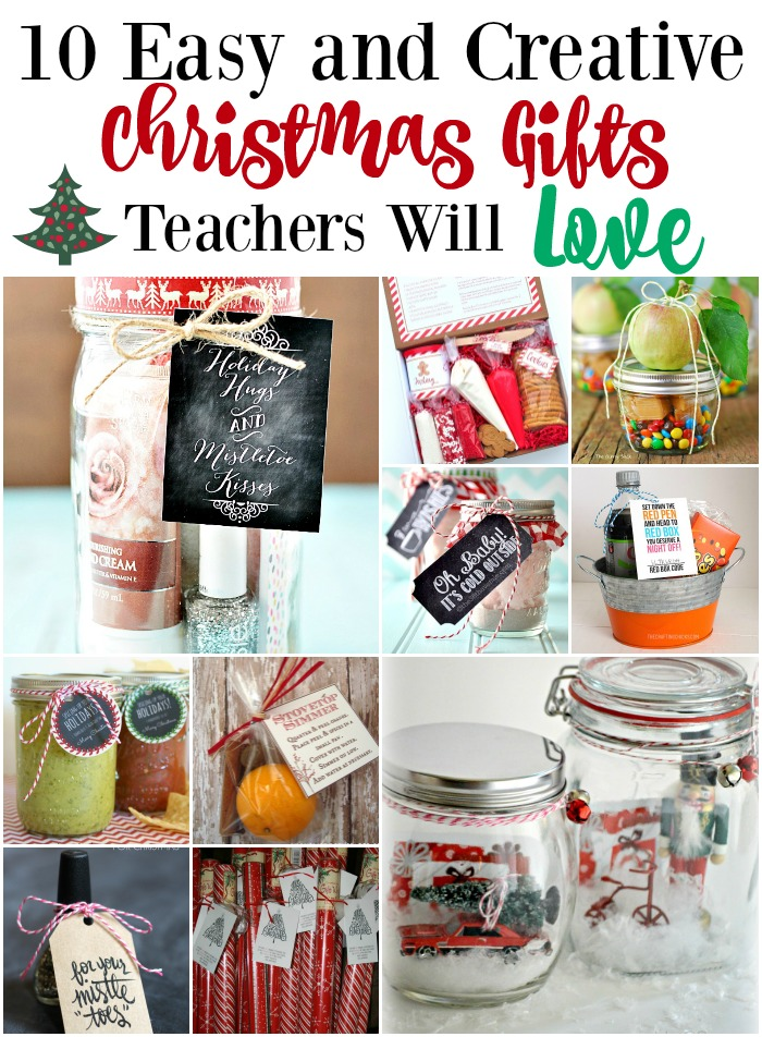 10easy and Creative Christmas Gifts Teachers will Love