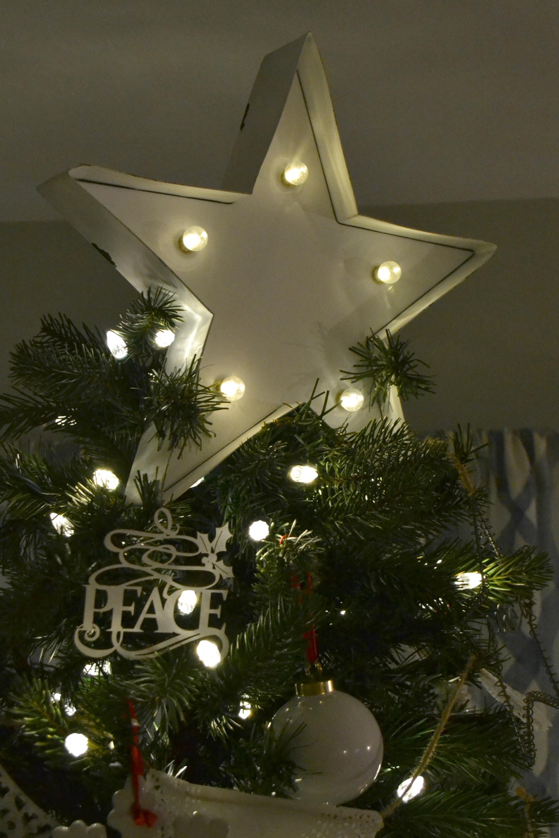 $50 Christmas Tree Topper