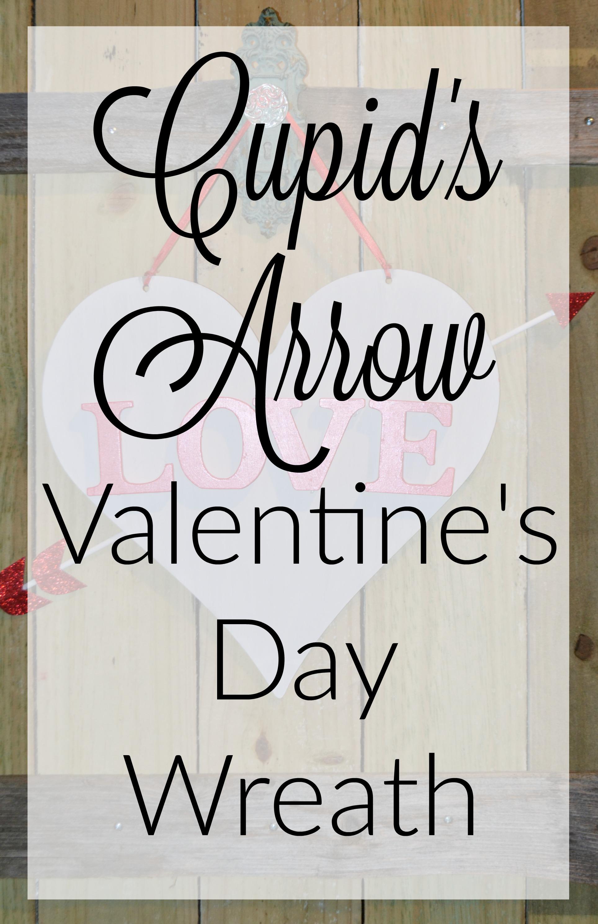 Cupid's Arrow Valentine's Day Wreath