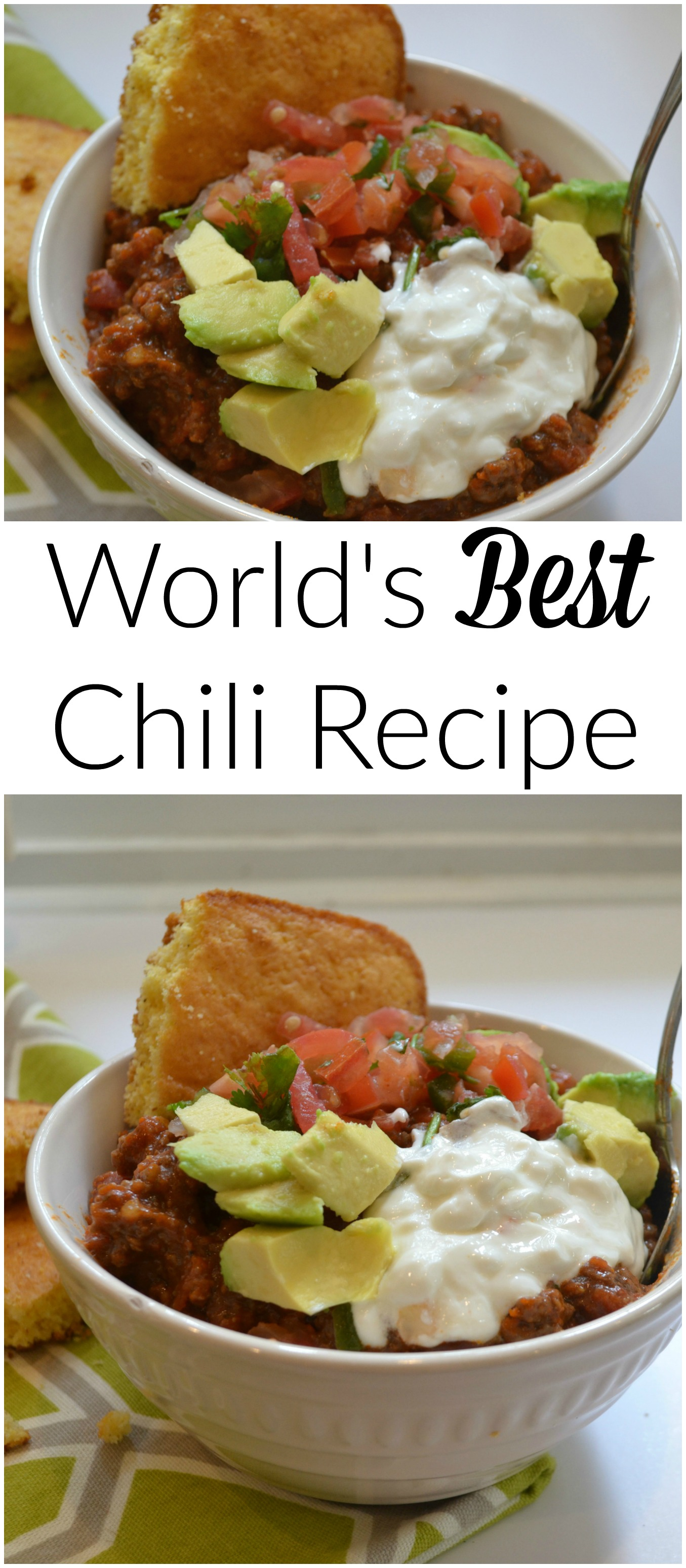 World's Best Chili Recipe