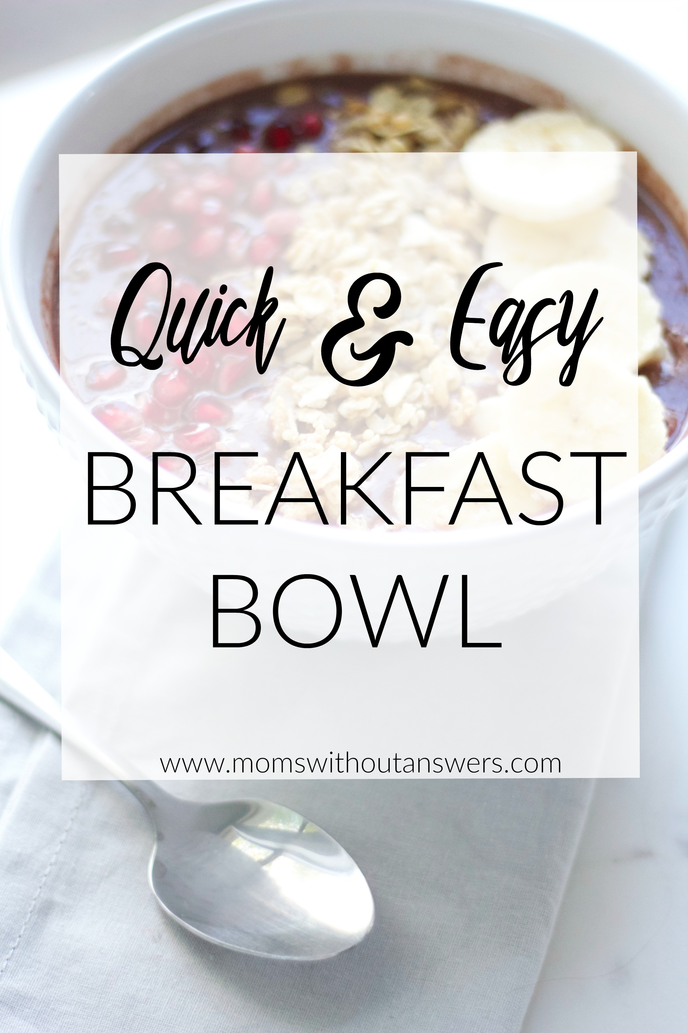 Quick And Easy Breakfast Bowl