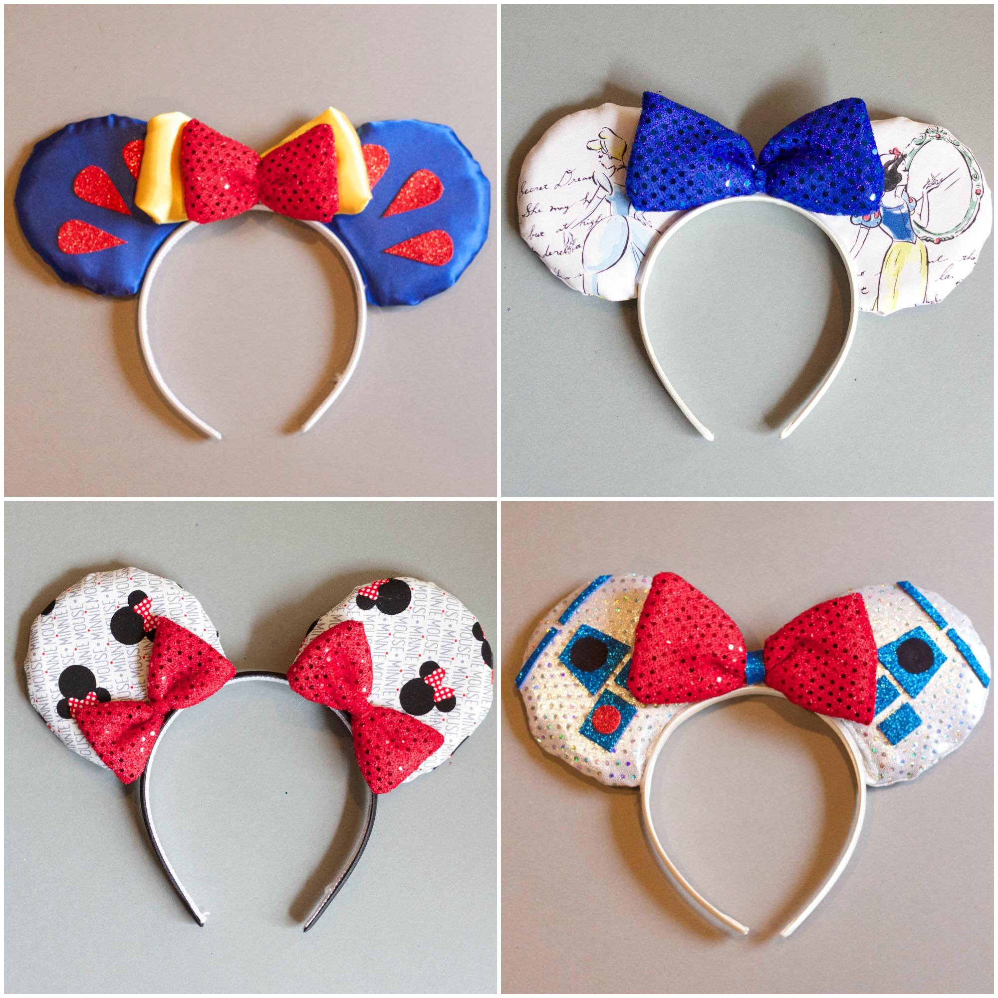 Easy DIY Disney Mickey Ears